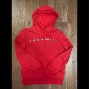 Tommy Hilfiger Red Hoodie